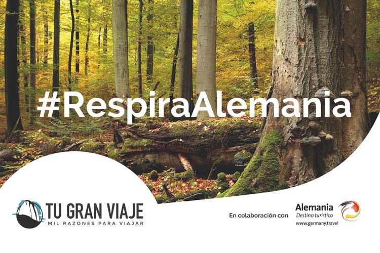 RespiraAlemania. Una acción de TGV Lab para la Oficina Nacional Alemana de Turismo
