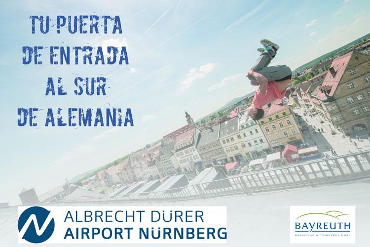 #LiveNUE Go NUE!, campaña de marca para el aeropuerto de Nuremberg