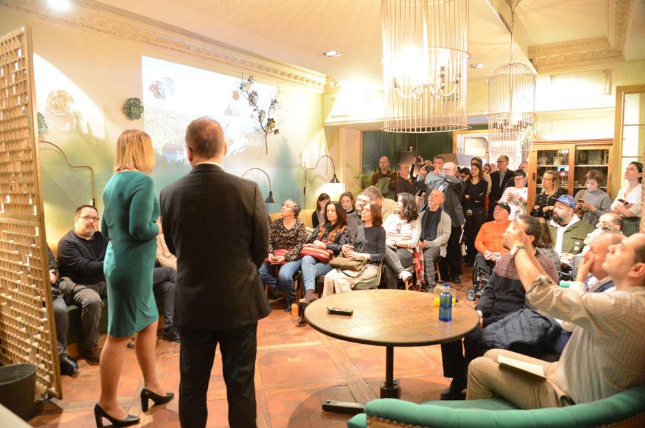 Más de setenta medios de comunicación, en la presentación «Castillos y Palacios» de la Oficina Nacional Checa de Turismo – CzechTourism