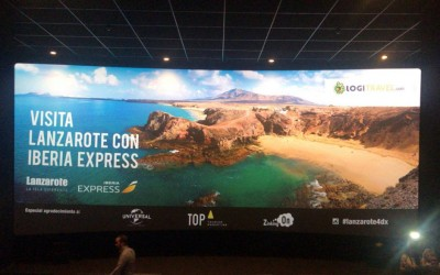 """Top Tourism Marketing, Diploma en los IX Premios Agripina por su campaña """"4DX Lanzarote"""""""