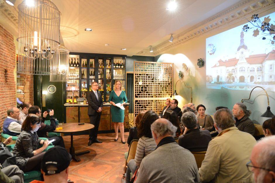 """TGV Lab organiza el evento de presentación campaña de promoción """"Castillos y Palacios"""" de la Oficina Nacional Checa de Turismo, que contó con la presencia de más de setenta periodistas, comunicadores e influencers."""